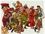 'Street Fighter II'