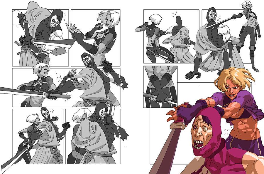 """Alacrity Comic"" by AfuChan"
