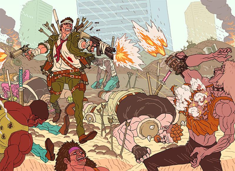 'Gunrando III' by AfuChan