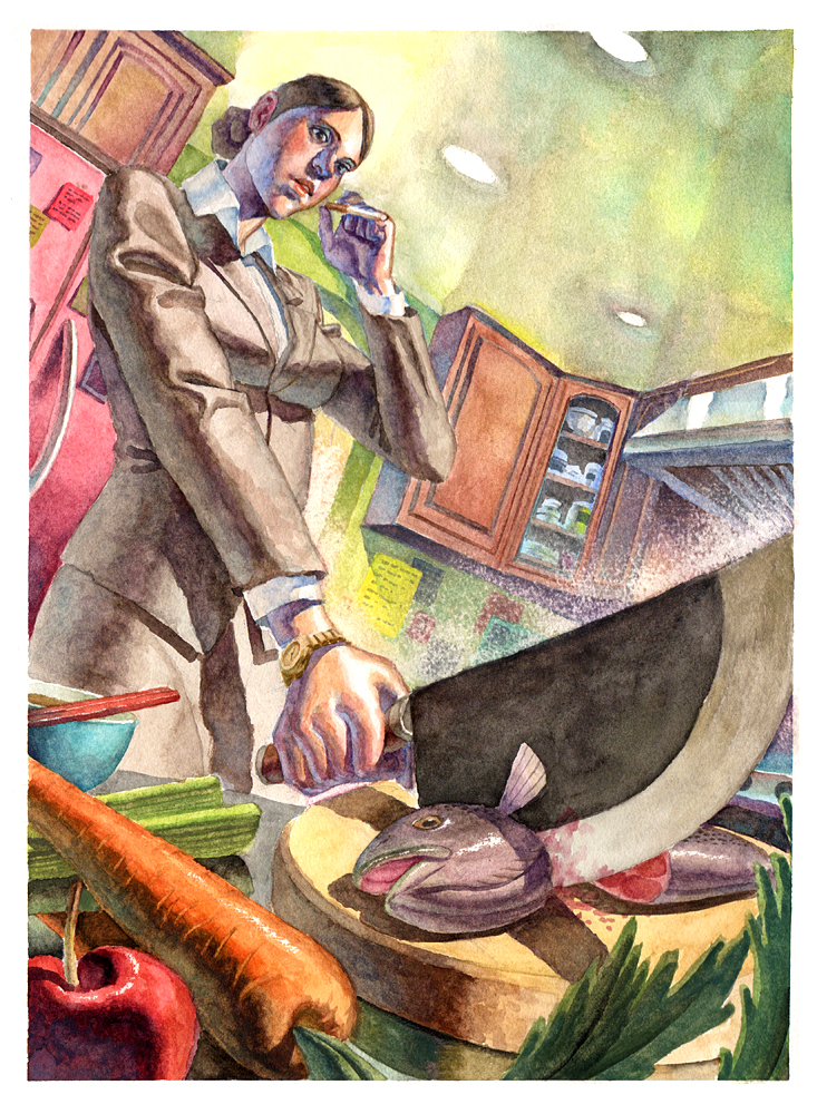 """Chef"" by AfuChan"