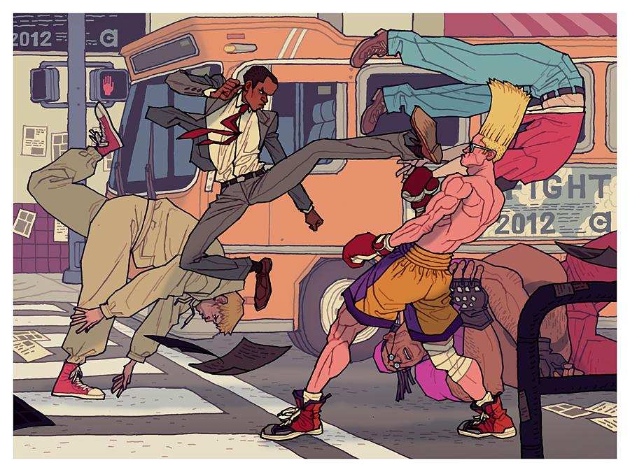 Street Fight 2012 by AfuChan