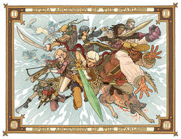 Spera: Ascension of the Starless Volume 1 Pin-up