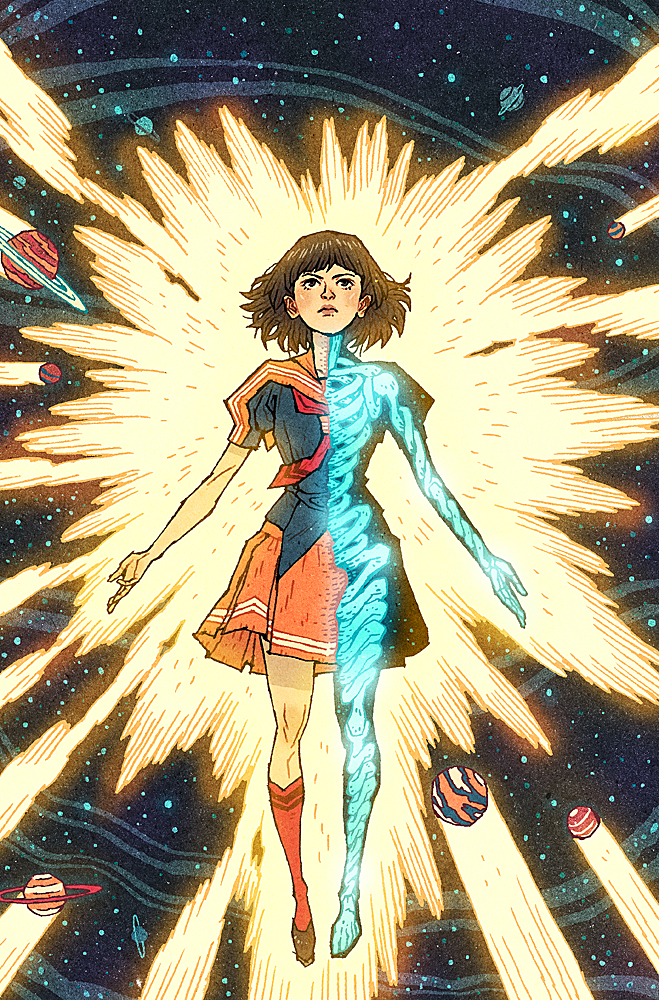 HaloGen Issue #3 Cover by AfuChan
