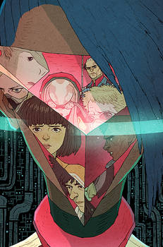 HaloGen Issue #4 Cover