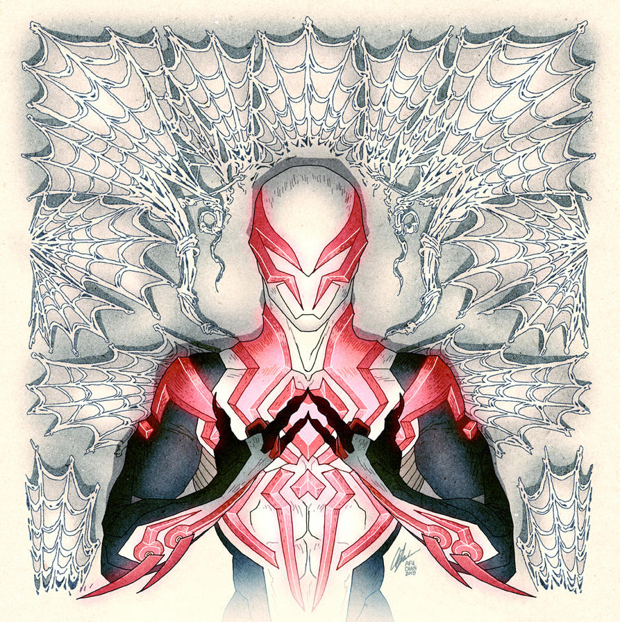 Spider-Man 2099 Hip Hop Variant Cover by AfuChan