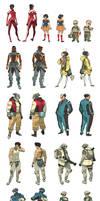 HaloGen - Character Sheets