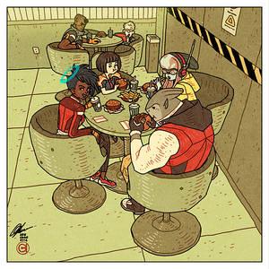 HaloGen - Lunchtime
