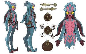 Venom Octopus by AfuChan