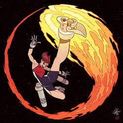 Bl4zing Kick!!! by AfuChan