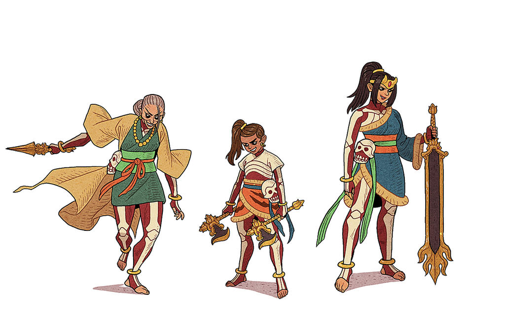 Mara's Daughters by AfuChan