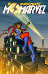 The Magnificent Ms Marvel #2 Variant Cover