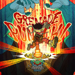Grenade Punch! by AfuChan