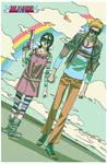 'Bleach Goes Rainbow' by AfuChan