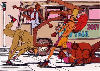 'Street Fight 07' by AfuChan