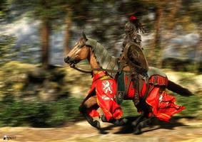 Knight's Parade by Nihil-Novi-Sub-Sole