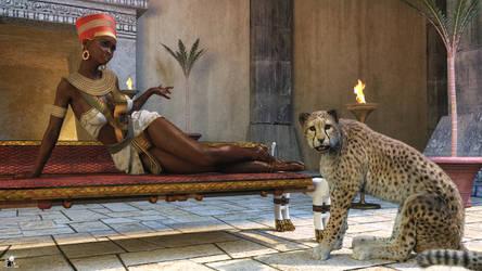 Nubian princess by Nihil-Novi-Sub-Sole