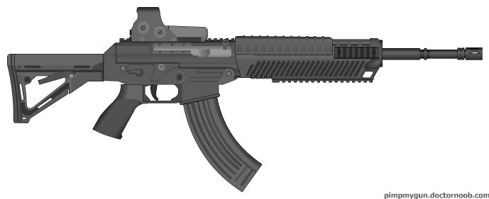 type of machine gun