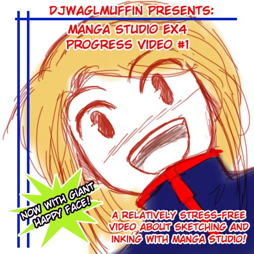 Manga Studio: Sketching and Inking by djwagLmuffin