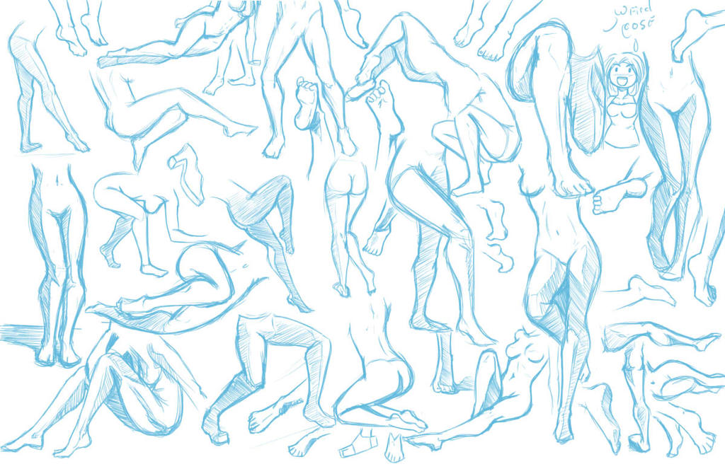 Legs And Feet BAHA By DjwagLmuffin