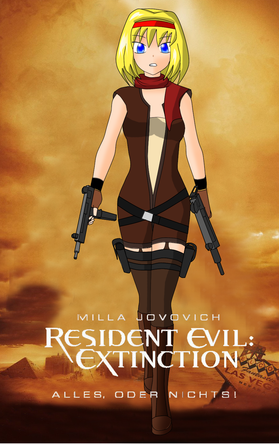Touhou Resident Evil by redcomic