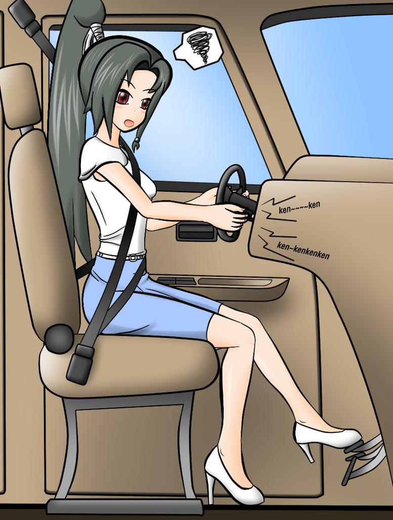 Kamui Tokinomiya drive by redcomic