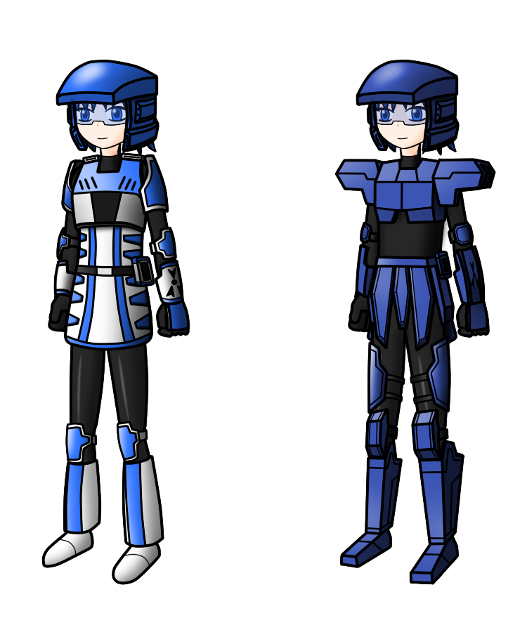 Mecha Armor by redcomic