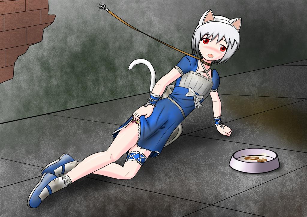 Imprisoned Cat by redcomic