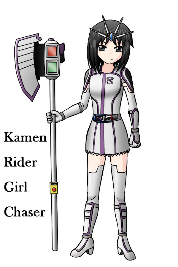 Kamen Rider Girl Chaser by redcomic