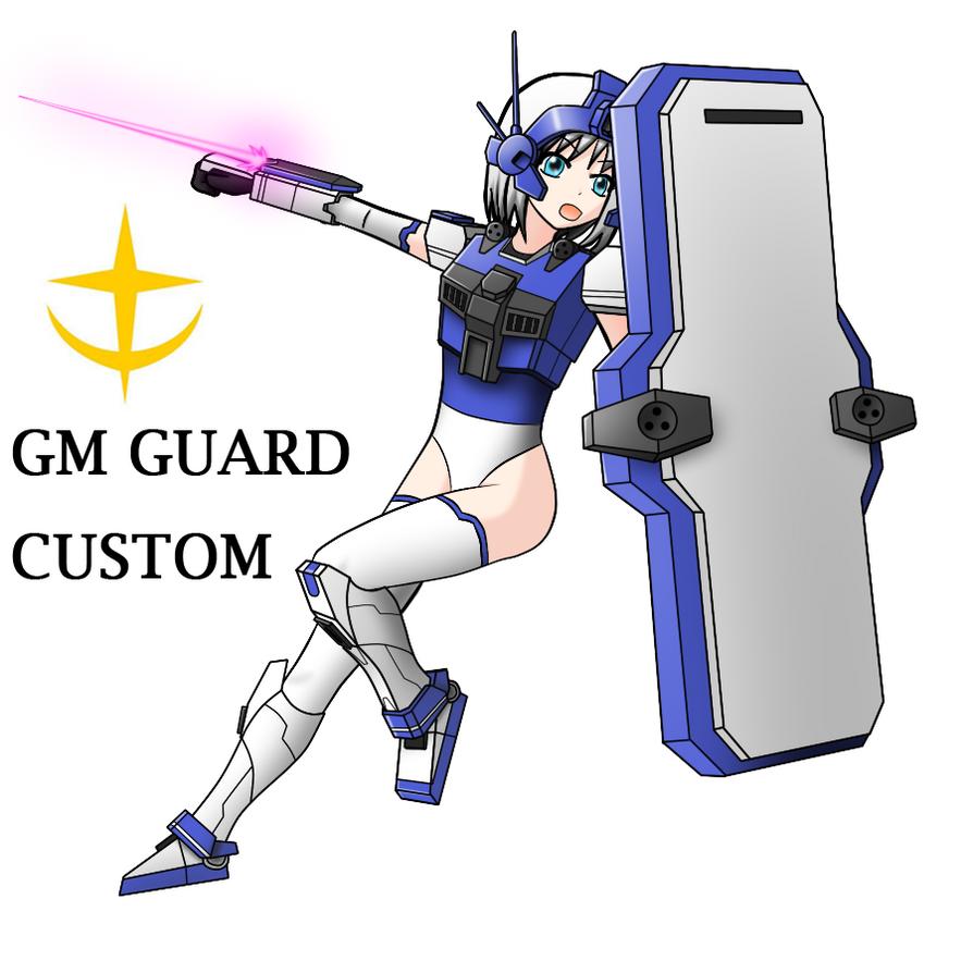 GM GUARD CUSTOM Girl by redcomic