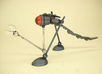 Robot Snipper Robotosaurus by buildersstudio