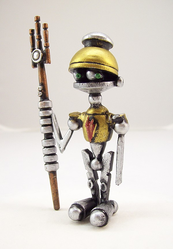 Little Wood Centurion Robot by buildersstudio