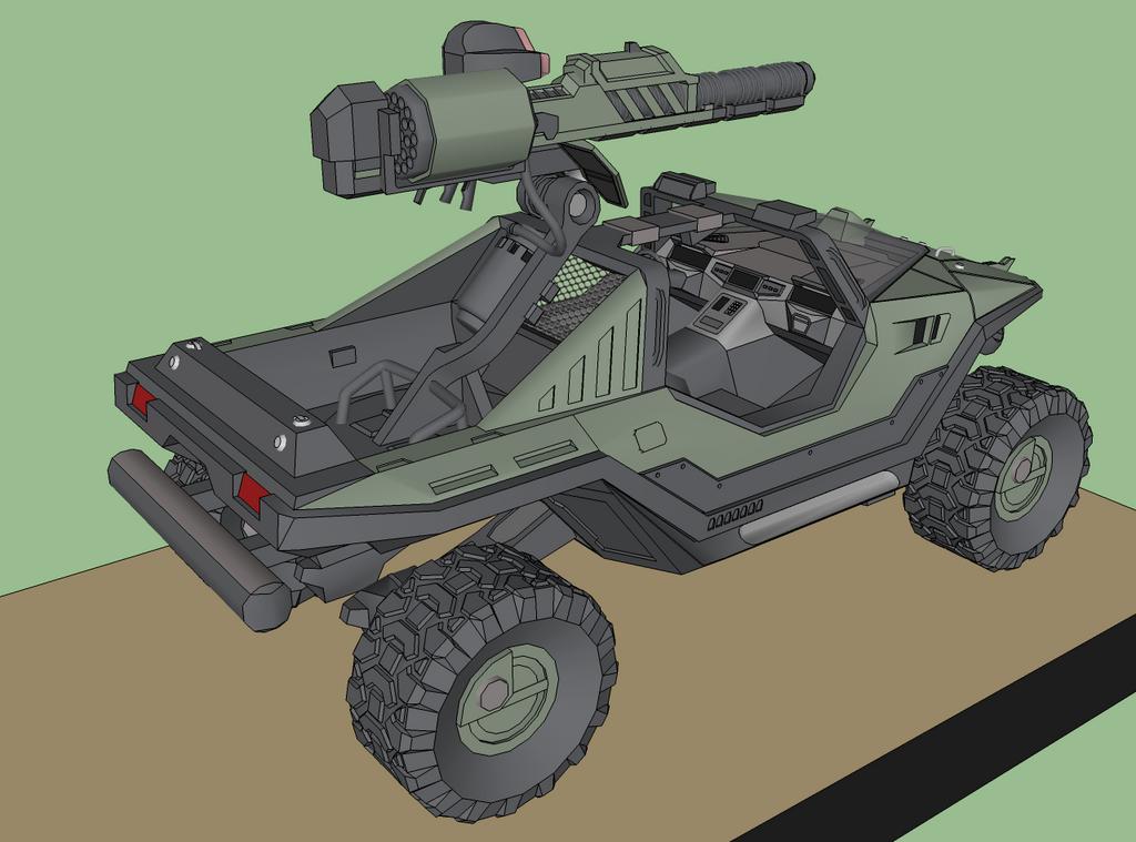 Reach Warthog Update 'WIP' 2 by KayKove