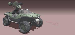 M12G1 Warthog LAAV - Front