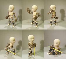 10 inch Spiral Knight - Bare Figure