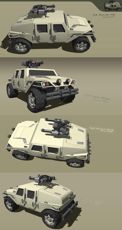 Proto Halo Universe Humvee By Kaykove On Deviantart