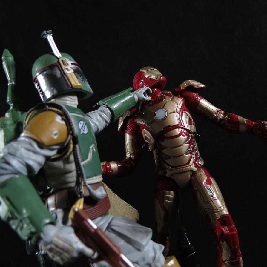 Ironman VS Boba Fett 4 by Doubledealer93 on DeviantArt