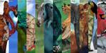 2015 Abstract Animal Calendar by BenGeigerArt