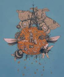 La Machine Volante by BenGeigerArt