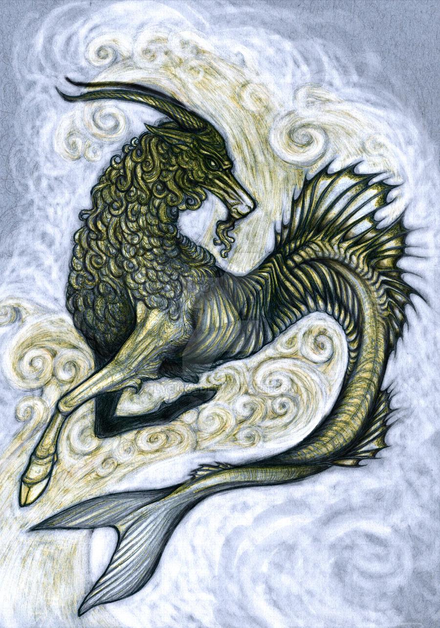 Capricorn by Lyekka
