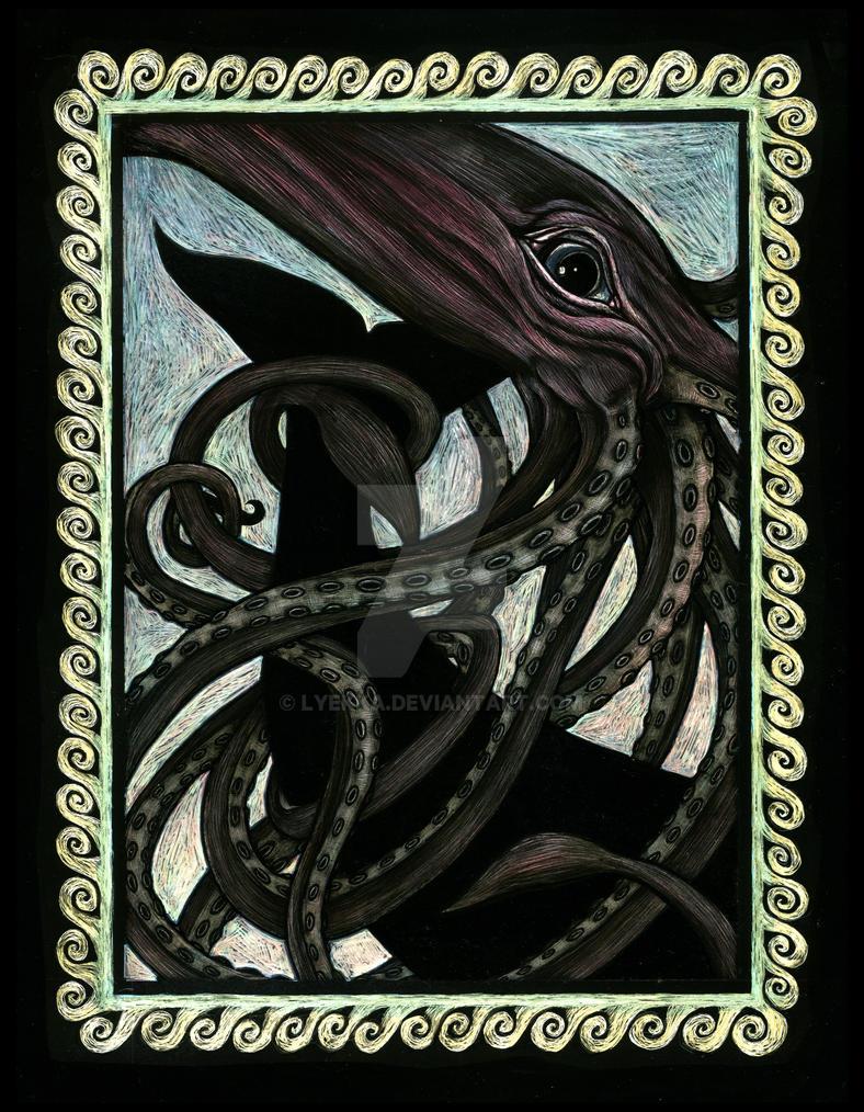 Giant Squid by Lyekka