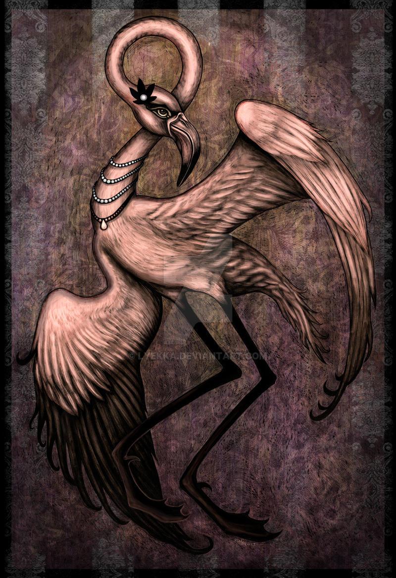 Ragtime Flamingo by Lyekka