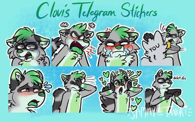 ClovisMint Telegram Stickers