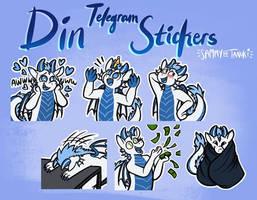 Din Telegram Stickers