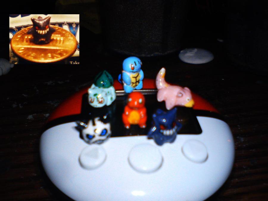 Micro Pokemon by hamsterSKULL
