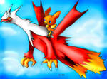Latiken and Torchic by hamsterSKULL