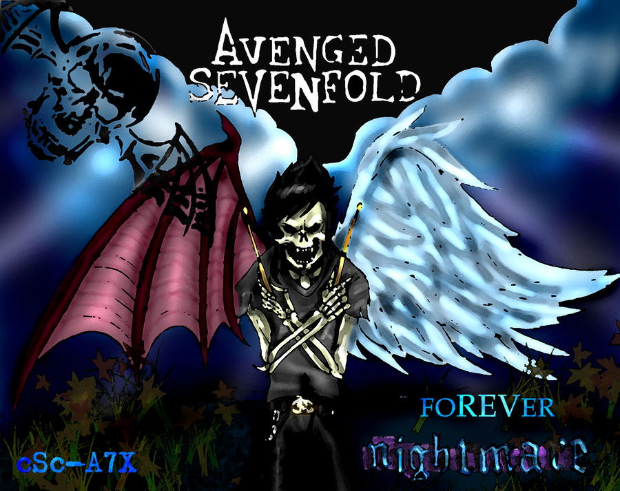 Avenged Sevenfold Afterlife Wallpaper foREVer NIGHTMARE by