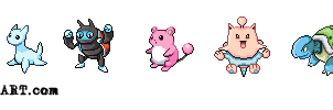 Beta Pokemon Sprites vol.1