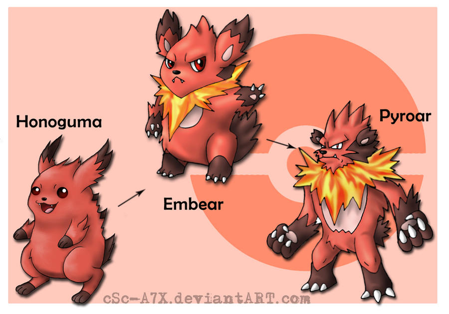 Honoguma Evo Line by hamsterSKULL