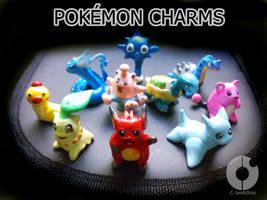 Beta Pokemon Charms I by hamsterSKULL