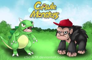 Capsule Monsters by hamsterSKULL